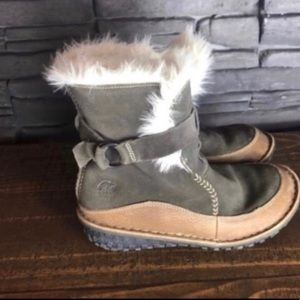 Sorel Tootega Winter Fur Boots 5